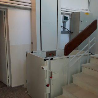 Μελέτη & Εγκατάσταση Υδραυλικού Ανελκυστήρα Kleemann Vertiplat