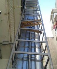 Μελέτη εγκατάστασης εξωτερικού ανελκυστήρα Kleeman