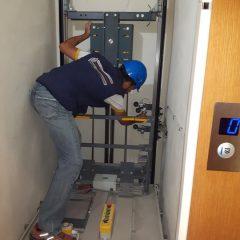 Μελέτη εγκατάσταση  ανελκυστήρα Kleeman Flexilift