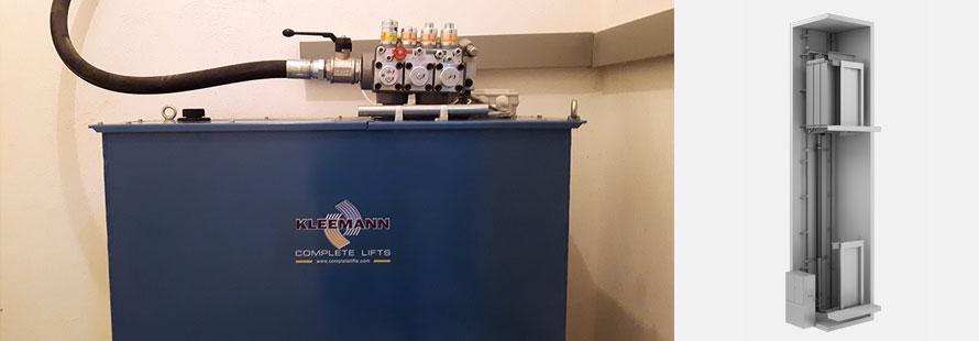 Υδραυλικοί Ανελκυστήρες KLEEMANN - Alexiou Group