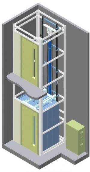 01 3D Υδραυλικοί Ανελκυστήρες KLEEMANN - Alexiou Group