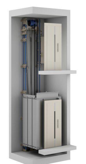 02 3D Υδραυλικοί Ανελκυστήρες KLEEMANN - Alexiou Group