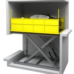 Ανελκυστήρας Αυτοκινήτων Τύπος 2 KLEEMANN – Alexiou Group