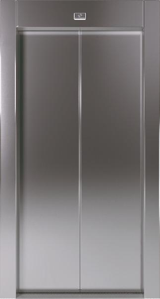 Αυτόματη Πόρτα Δίφυλλη Κεντρικού Ανοίγματος Inox KLEEMANN - Alexiou Group
