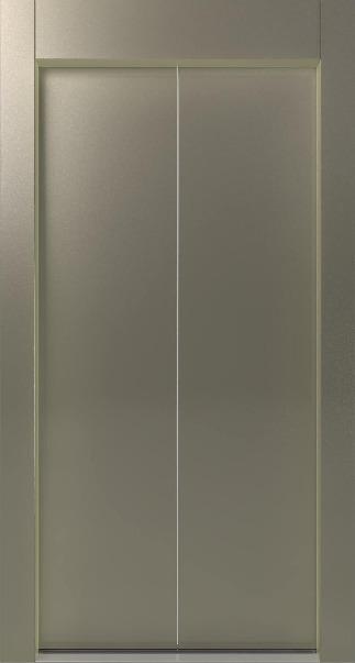 Αυτόματη Πόρτα Δίφυλλη Κεντρικού Ανοίγματος RAL KLEEMANN - Alexiou Group