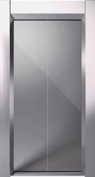 Αυτόματη Πόρτα Δίφυλλη Κεντρικού Ανοίγματος Inox FA310 KLEEMANN - Alexiou Group