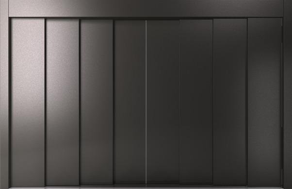 Αυτόματη Πόρτα Οκτάφυλλη Κεντρικού Ανοίγματος RAL KLEEMANN - Alexiou Group